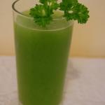Zielony sok z pietruszki,...