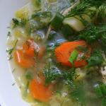 Wiosenna zupa z mlodej ka...