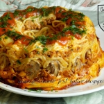 Spaghetti zapiekane a la ...