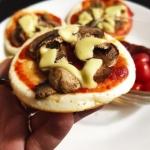 Mini pizzerinki z patelni