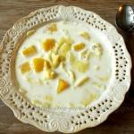 Zupa mleczna - kluski z...