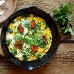 Omlet z pokrzywami