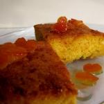 Pomarańczowe ciasto z...