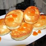Pomarańczowe omleciki