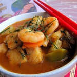Zupa rybna z chińskim...