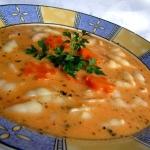Zupa pomidorowo-serowa
