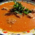Zupa pomidorowa z pulpeci...