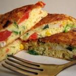 Omlet z surimi