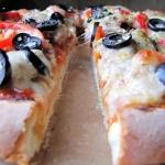 Pizza a la luna