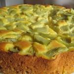 Dietkowe ciasto z rabarba...
