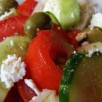 Salatka (prawie Grecka)