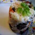 Ryż z grzybami