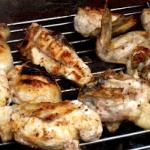 Kurczak z grilla z sosem