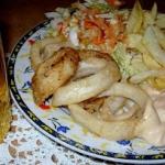 Kalmary chips