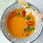 Zupa z pieczonej papryki ...