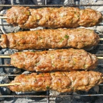 Kebab z kurczaka, prosto ...