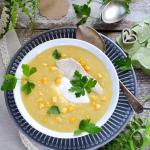 Zupa z kukurydzy z...