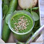 Zielony koktajl z ogorkie...