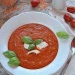 Krem pomidorowy z czerwon...