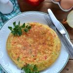 Hiszpanski omlet ziemniac...