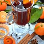 Wino grzane z mandarynkam...
