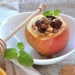 Jablka pieczone z orzecha...