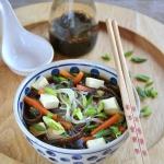 Zupa chińska z tofu