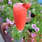 Truskawkowy letni drink
