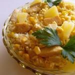 Sałatka curry z...