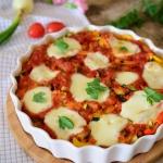Gnocchi pod warzywami zap...