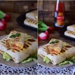 Burrito z mięsem...