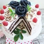Tort czekoladowo-agrestow...