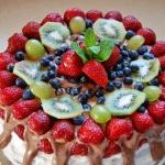 Mezowy tort urodzinowy