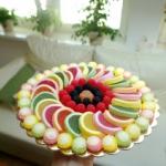 Tort urodzinowy zelkowo-g...