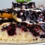 Ciasto piaskowe z jagodam...