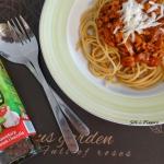 Klasyczne spaghetti...