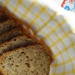 Szybki chleb razowy ze sl...