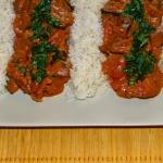 Czerwone curry z kurczaka...