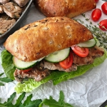 Sandwich z polędwiczką...