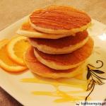 Pancakes kukurydziane ze ...