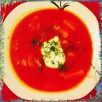 Pomidorowa z ryzem