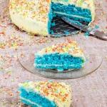 Szmaragdowy tort biszkopt...