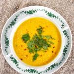 Kremowa zupa z marchewki ...