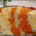 Salatka sledziowa z warzy...