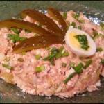 Pasta z makreli wedzonej