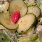 Salatka z awokado  z odro...