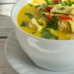 Zupa imbirowa z kurczakie...