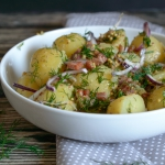 Salatka z ziemniakow z bo...