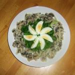 Salatka z pieczarek