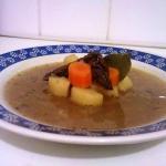 Zupa ziemniaczana z grzyb...